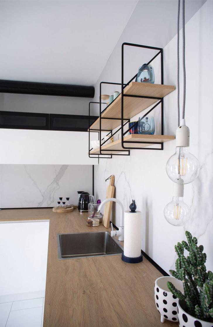 Минималистичная квартира 48 м² в Софии (фото 2)