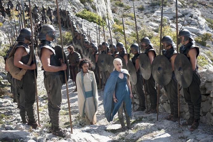 кхалиси и ее войско игра престолов