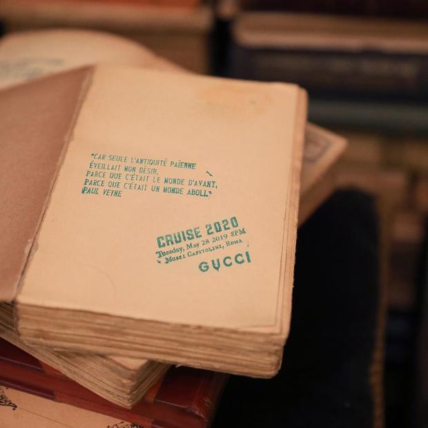 Gucci представят круизную коллекцию в старейшем римском книжном (фото 1)