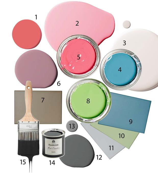 Выбор цвета для фасада