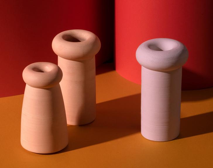 Нежный брутализм: коллекция керамики  от New Material (фото 5)
