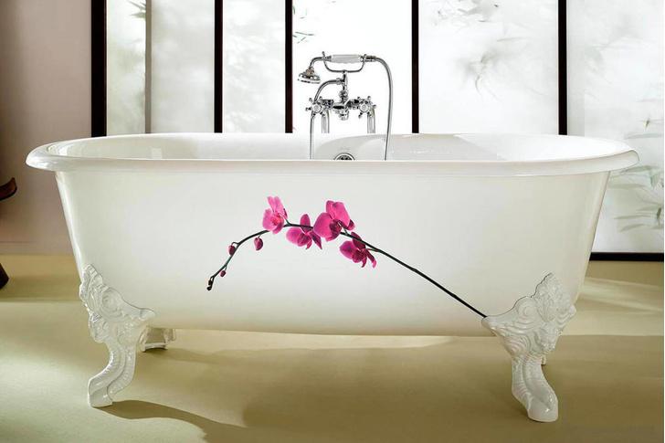 Вопрос эксперту: как встроить отдельностоящую ванну в комнату 5 м² ? (фото 7)