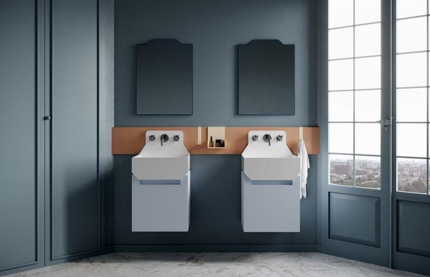 Ванная комната в стиле Роя Лихтенштейна от Ex.t (фото 4)