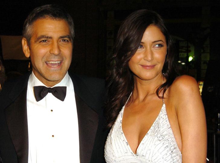 Джордж Клуни и Лиза Сноуден фото