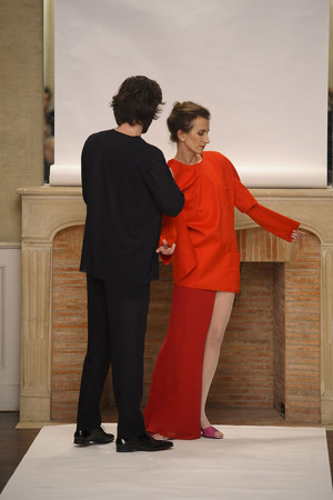 Показ Adeline Andre коллекции сезона Весна-лето 2011 года Haute couture - www.elle.ru - Подиум - фото 216071
