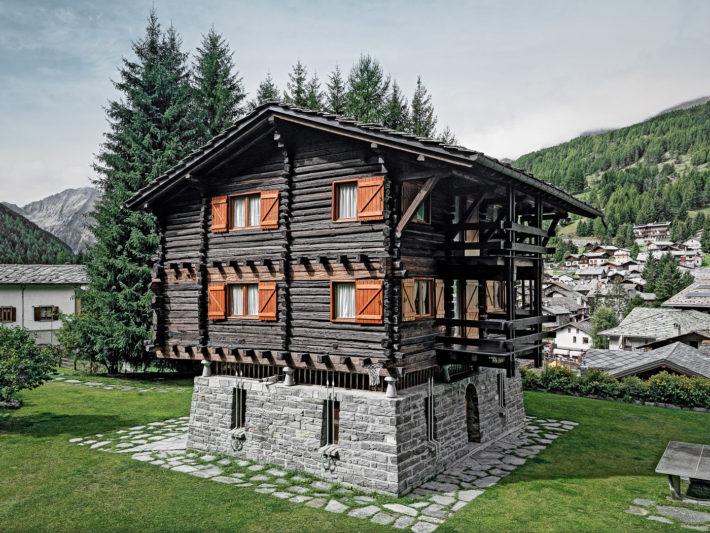 Дом-легенда: альпийская хижина по проекту Карло Моллино (фото 11)