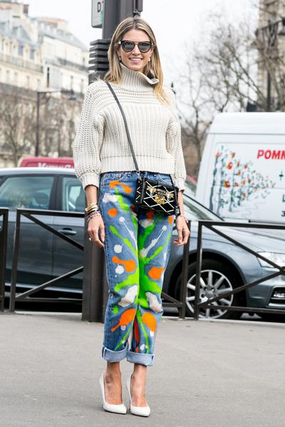 С чем носить джинсы осенью фото | галерея [2] фото [1]