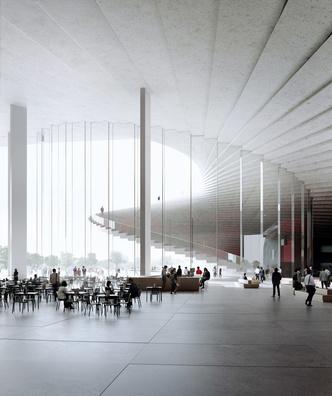Проект Шанхайской оперы от студии Snøhetta (фото 4.1)