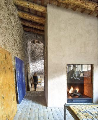 Дом в здании фермы XVII века в Испании (фото 5.2)