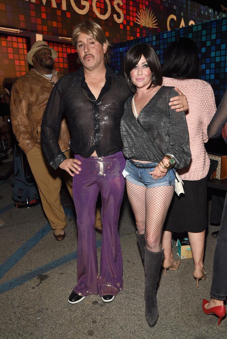 Страшно красивые: Амаль и Синди на вечеринке по случаю Хэллоуина фото [7]