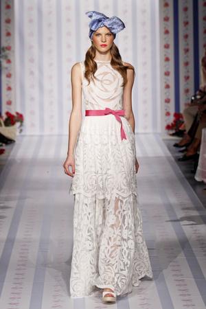 Показы мод Luisa Beccaria Весна-лето 2013 | Подиум на ELLE - Подиум - фото 1071