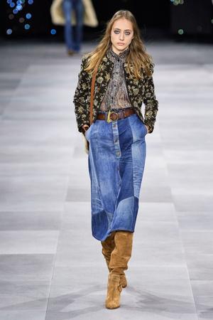 Всего одна юбку на весну — джинсовая миди, как носили наши мамы (фото 3.1)
