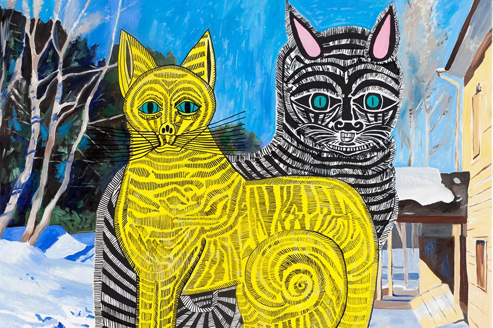 «Все по 100»: аукцион современного искусства от Vladey   галерея [1] фото [5]