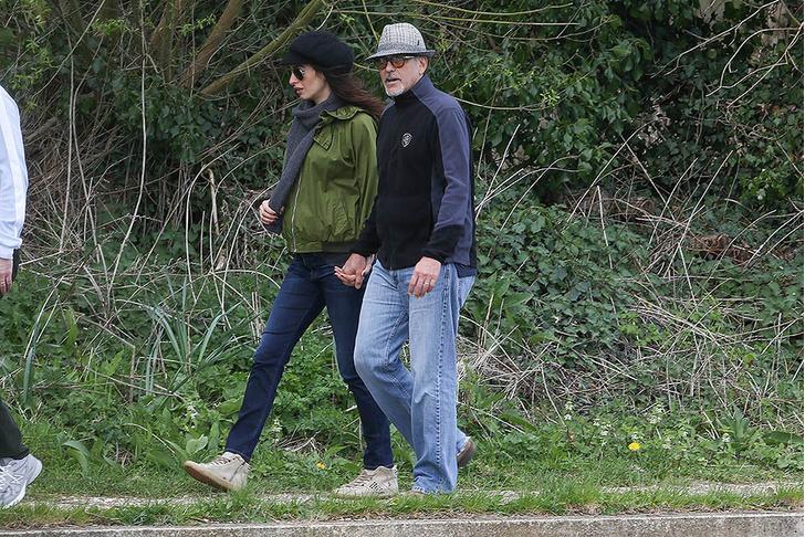 Джордж и Амаль Клуни: самые счастливые родители