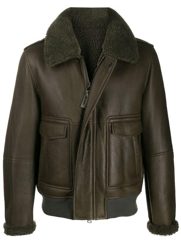 Кожаная куртка с мехом — лучшая покупка ноября (фото 15)