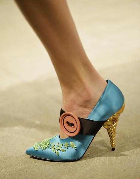 Итоги Недель моды: самая красивая обувь | галерея [9] фото [3]