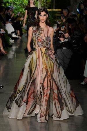 Показы мод Elie Saab Весна-лето 2015 | Подиум на ELLE - Подиум - фото 4234