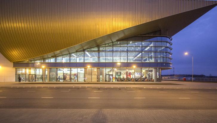 Новый символ Прикамья: терминал аэропорта Перми (фото 8)