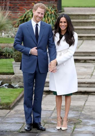 Фото дня: принц Гарри и Меган Маркл после объявления о помолвке (фото 1)