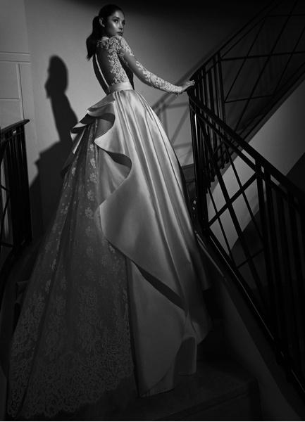 Пышные свадебные платья с рукавами