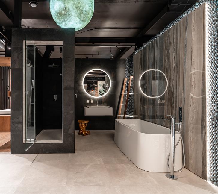 4 дизайн-пространства в шоуруме Globus Ceramica (фото 1)