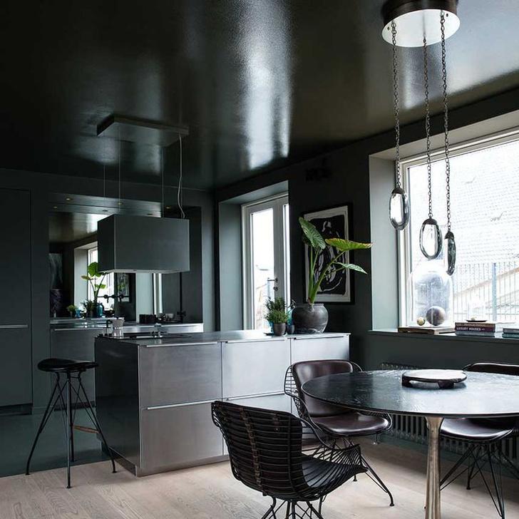 Черный цвет на кухне: 8 приемов (фото 14)