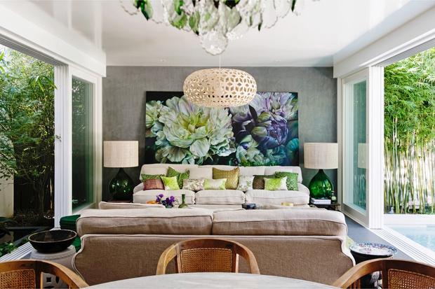 Интерьер с обложки: дом художницы Марселлы Каспар (фото 2)