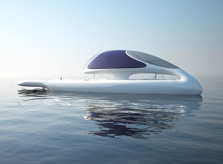 Концепт яхты Bioyot, дизайн Росса Лавгрова