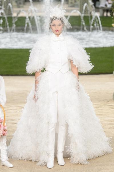 Самые красивые свадебные платья Недели моды haute couture (галерея 1, фото 0)