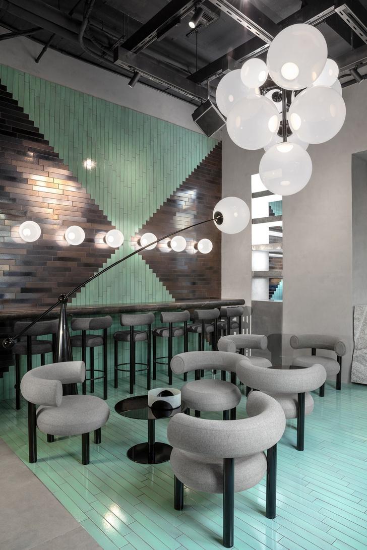 Эклектичный ресторан по проекту Тома Диксона (фото 4)