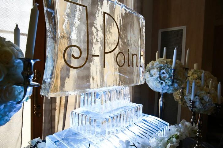 Знаменитости на презентации новой коллекции J-Point