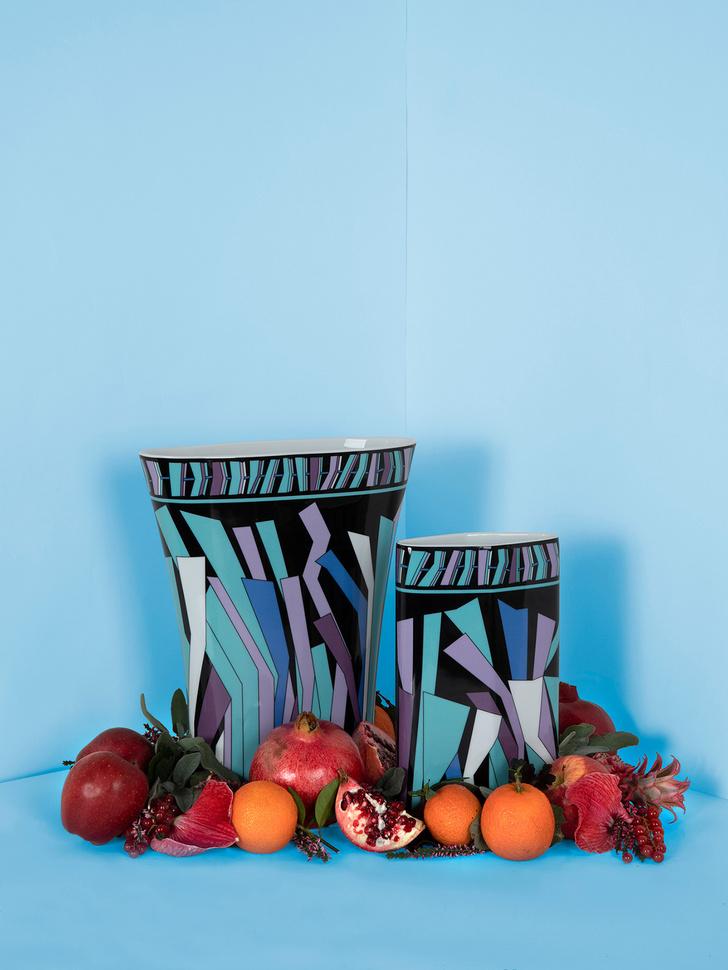 Emilio Pucci и Rosenthal переиздали архивные вазы (фото 0)