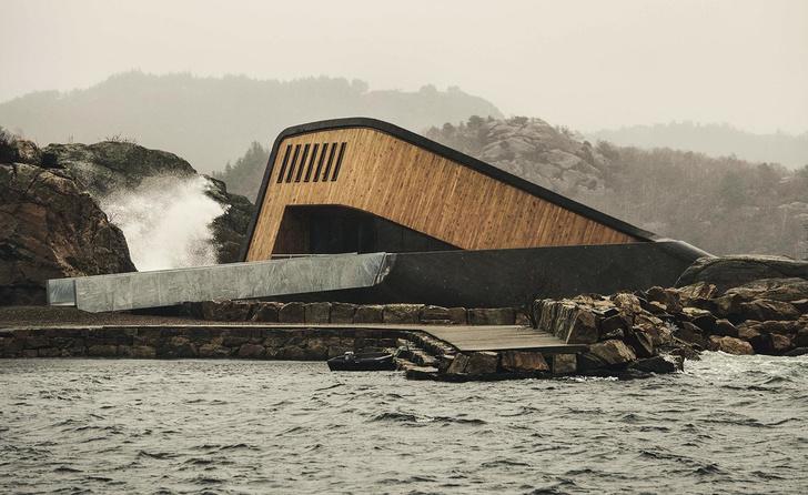 Характер нордический: подводный ресторан по проекту Snøhetta (фото 4)