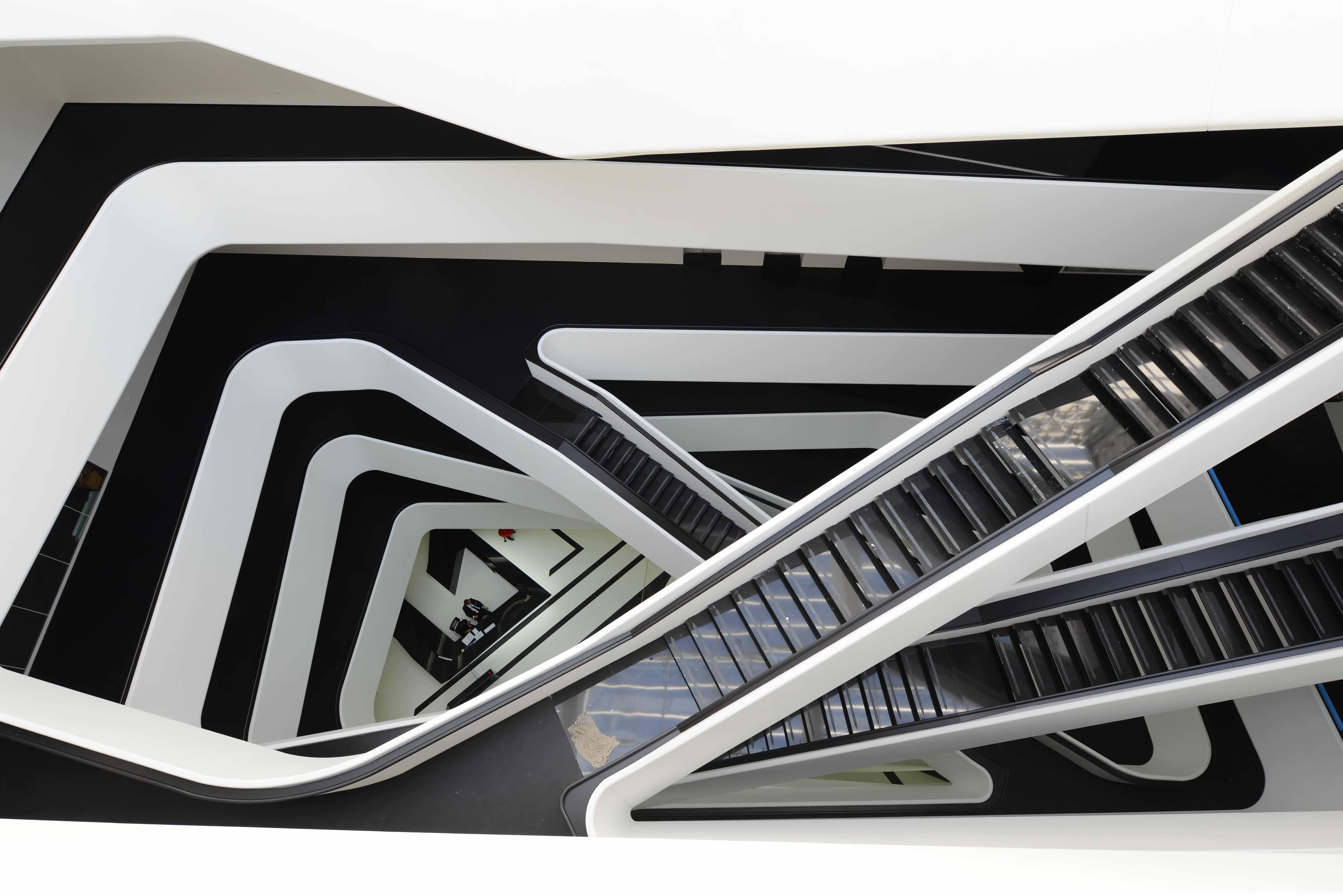 Первая в Москве постройка от Захи Хадид | галерея [1] фото [5]