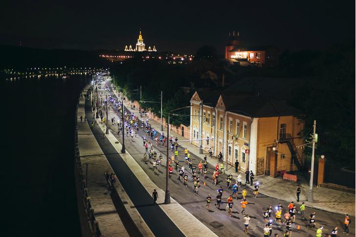 В Москве состоялся «Ночной забег»