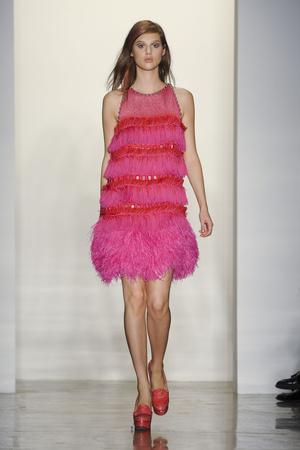 Показы мод Peter Som Весна-лето 2012 | Подиум на ELLE - Подиум - фото 2082