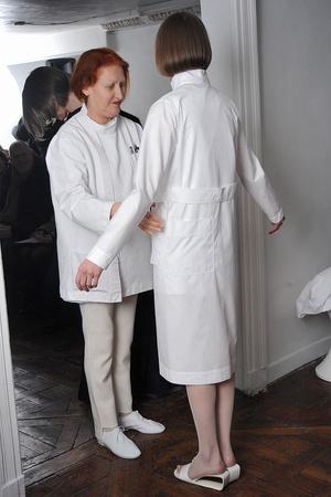 Показ Adeline Andre коллекции сезона Весна-лето 2009 года haute couture - www.elle.ru - Подиум - фото 86153