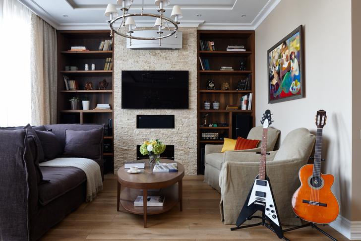 Квартира в Москве для семьи из трех человек фото [3]