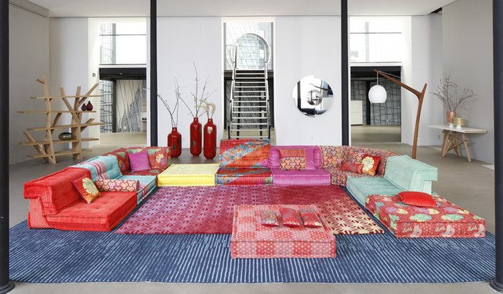 Новая версия дивана Mah Jong от Кензо Такады фото [3]