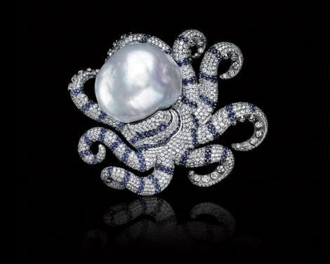 Tiffany & Co. представил новую коллекцию Высокого ювелирного искусства Blue Book | галерея [1] фото [11]