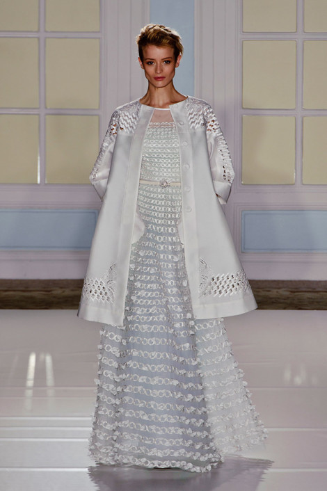 Temperley London на Неделе моды в Лондоне