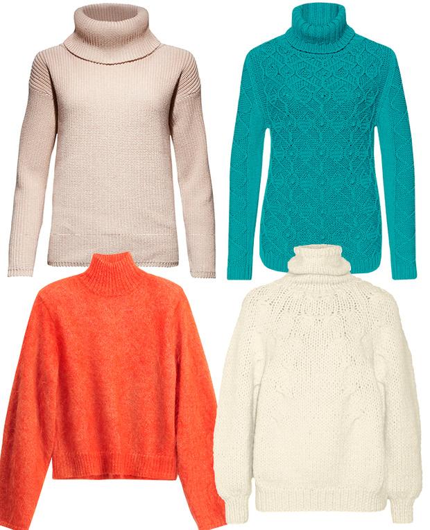 Calvin Klein Jeans, Marc Cain, H&M, Oscar de la Renta