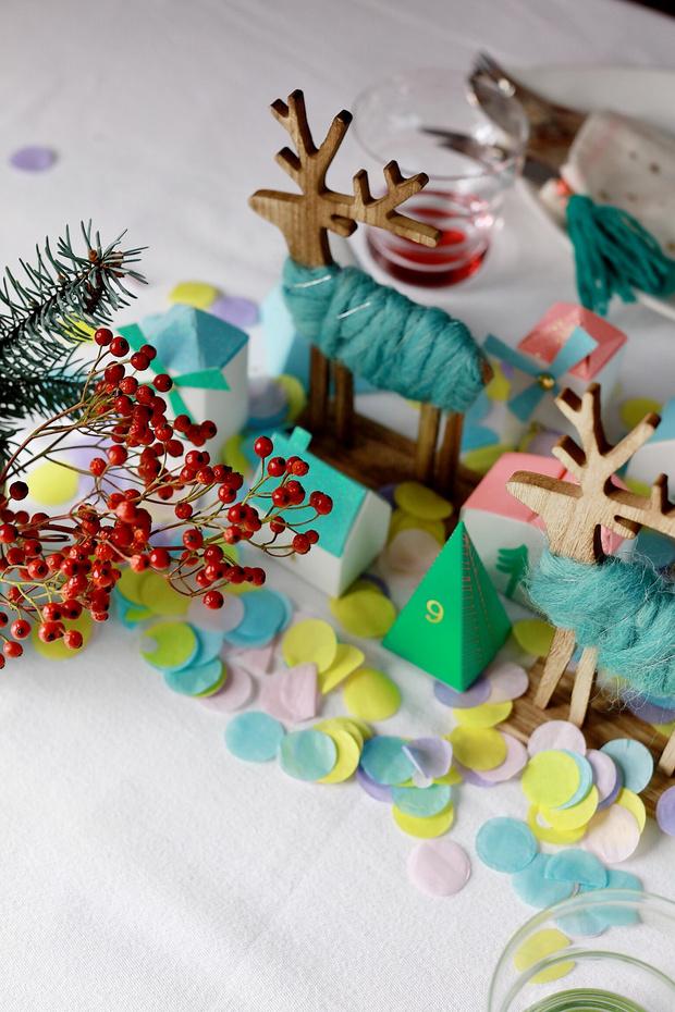 4 варианта новогодней сервировки фото [5]