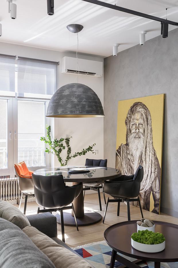 Минималистичная квартира 72 м² в Санкт-Петербурге (фото 0)