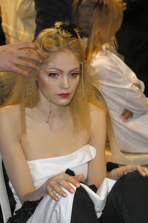 Показ Christian Dior коллекции сезона Весна-лето 2009 года Haute couture - www.elle.ru - Подиум - фото 86408