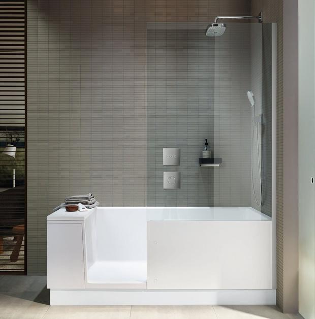 Стильная ванная комната: 10 актуальных трендов (фото 29)