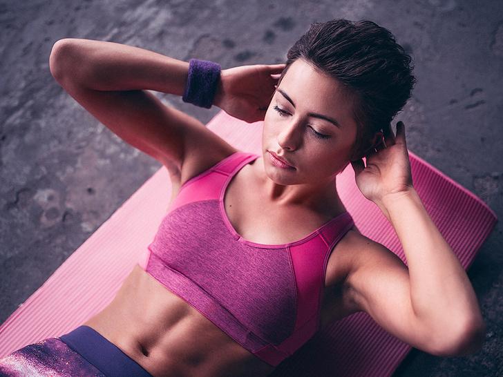 10 лучших упражнений для плоского живота фото [2]