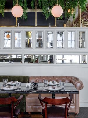 Ресторан Buro в ЦУМе: проект NB Studio (фото 14.2)