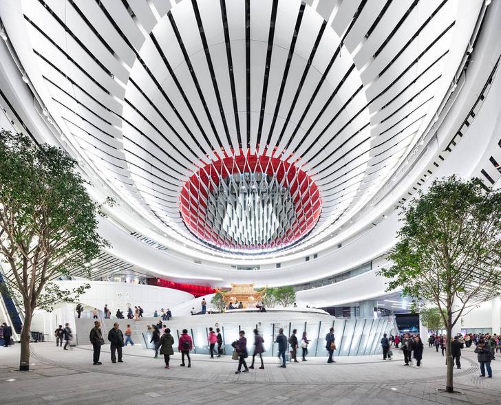 Футуристичный театр оперы в Гонконге (фото 2)