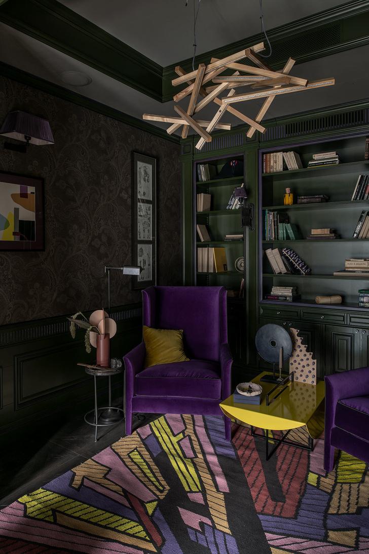Арт-хаус: квартира с коллекционным дизайном в центре Киева (фото 11)